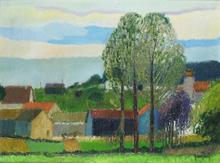 Gérard PASSET - Peinture - Landscape
