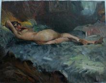Durando Togo RICHARD (1910-?) - Nu ingénu