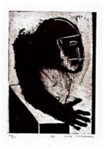 Max NEUMANN - Estampe-Multiple - Untitled