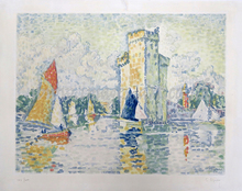Jacques VILLON - Print-Multiple - Le Port de la Rochelle