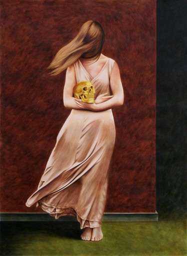 Erlend STEINER LOVISA - Painting - Tianda (Toetanchamon)    (Cat N° 5645)