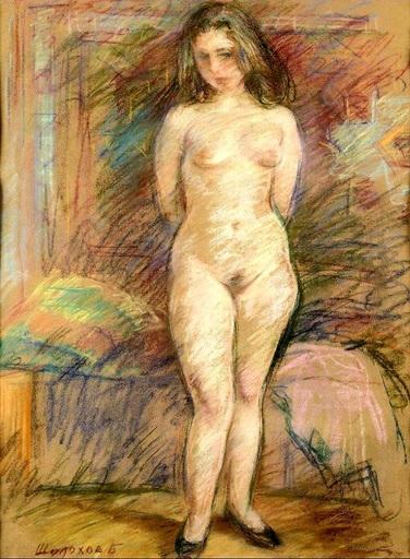 Boris Anatolievich SHOLOKOV - Disegno Acquarello - Good morning