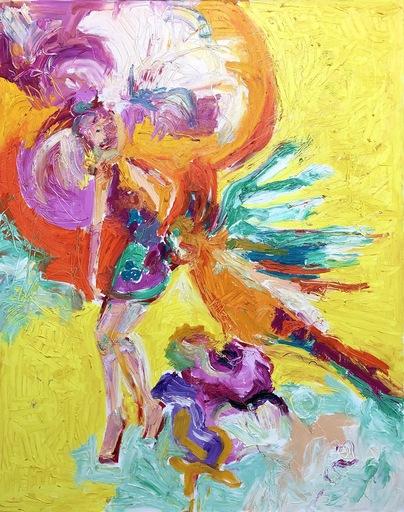Nicole LEIDENFROST - Gemälde - Paradies Vogel