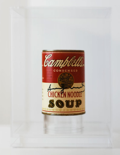 Andy WARHOL - Sculpture-Volume - Campbell´s Chicken Noodle Soup