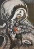Jean-Jacques LEBEL - 水彩作品 - Untitled