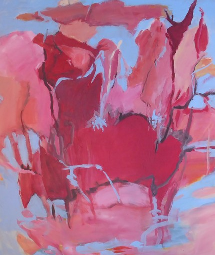 Sylvia GRAUER - Painting - if pigs could fly