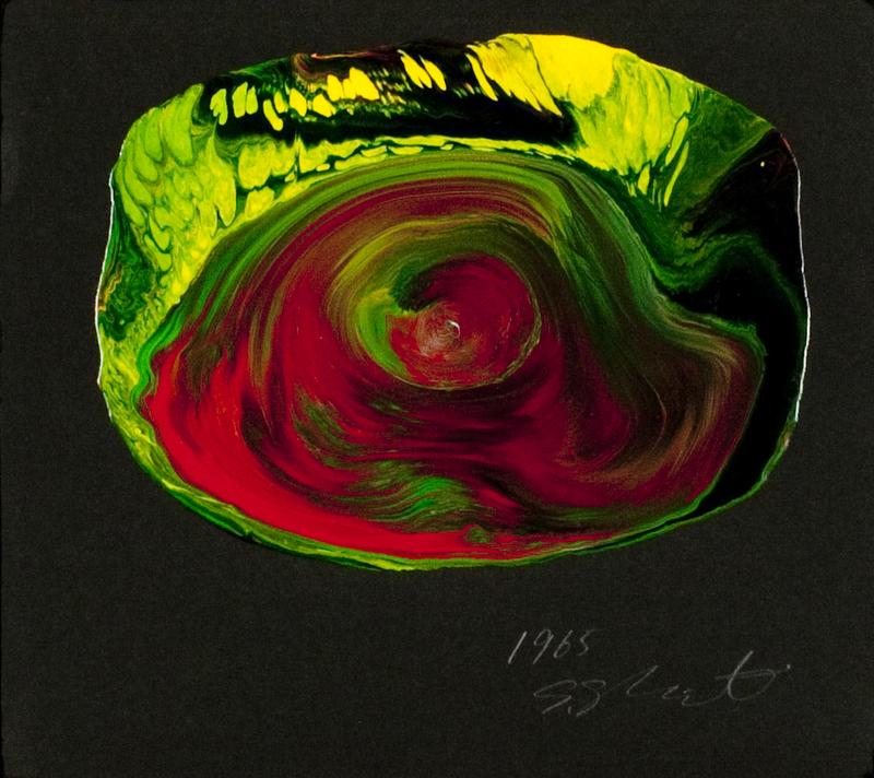 Shozo SHIMAMOTO - Pintura - Uzumaki on paper 9