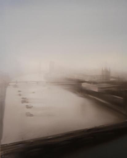 Jean-Marc AMIGUES - Pittura - Londres - La Tamise