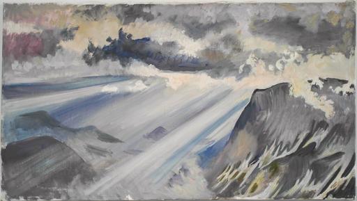 Edith KRAMER - Pintura - Ausseer Berge