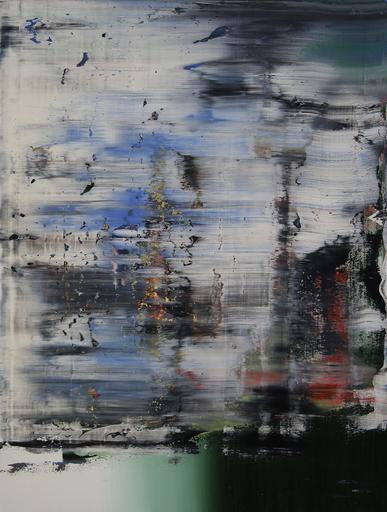 Harry James MOODY - Peinture - Abstract Boundaries No.263