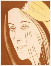 Alex KATZ - Estampe-Multiple - Caroline