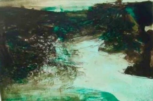 ZAO Wou-Ki - Estampe-Multiple - Untitled