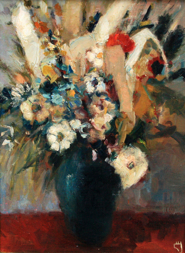 Levan URUSHADZE - Painting - Field flowers