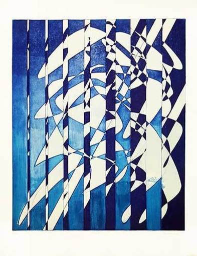Stanley William HAYTER - Print-Multiple - Voiles