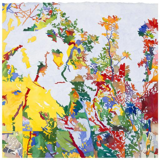 Jean-Paul AGOSTI - Drawing-Watercolor - Terre-Soleil