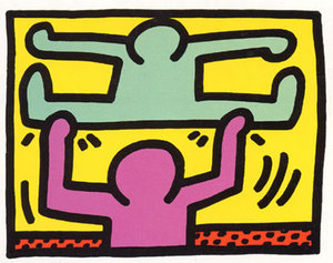 Keith HARING, Pop Shop 1