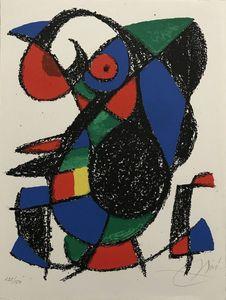 Joan MIRO - Estampe-Multiple - Miro Lithographe II planche 12