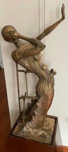 萨尔瓦多·达利 - 雕塑 - Femme en Flamme