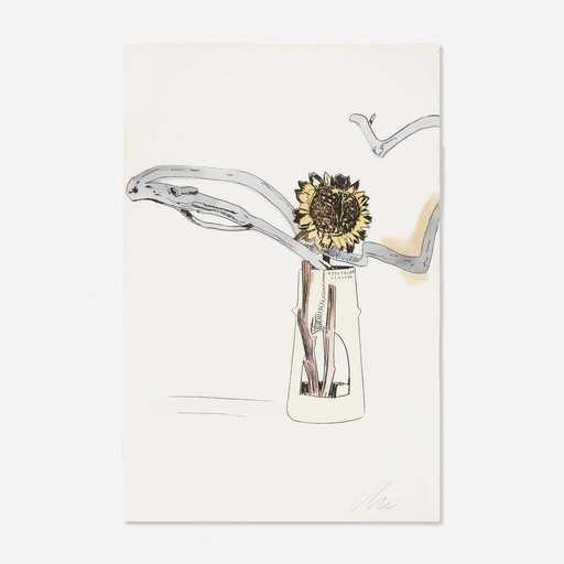 安迪·沃霍尔 - 版画 - Flowers (Hand-Colored)