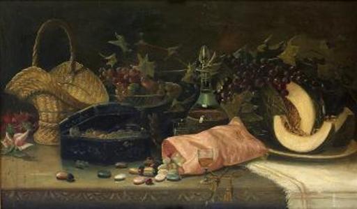 Joseph-Nicolas ROBERT-FLEURY - Pintura - Bodegón