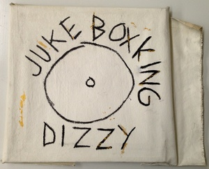 "Jean-Michel BASQUIAT, ""DIZZY Juke Box King"""