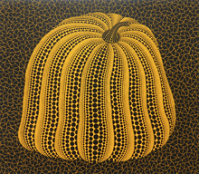 Yayoi KUSAMA - Print-Multiple - Yellow Colored Pumpkin