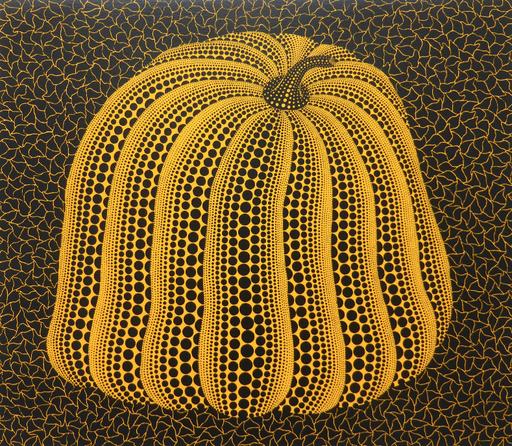 Yayoi KUSAMA - Stampa Multiplo - Yellow Colored Pumpkin