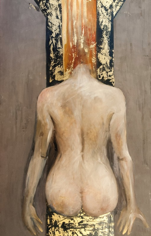 Bella MATVEEVA - Painting - Poppea. Poppea / The Coronation of Poppea series