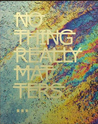 RERO - Print-Multiple - Untitled (NOTHING REALLY MATTERS ...)