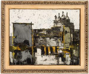 Claude VENARD - Painting - Le Sacre Couer