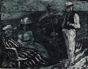 Emil NOLDE - Print-Multiple - Conversation | Unterhaltung