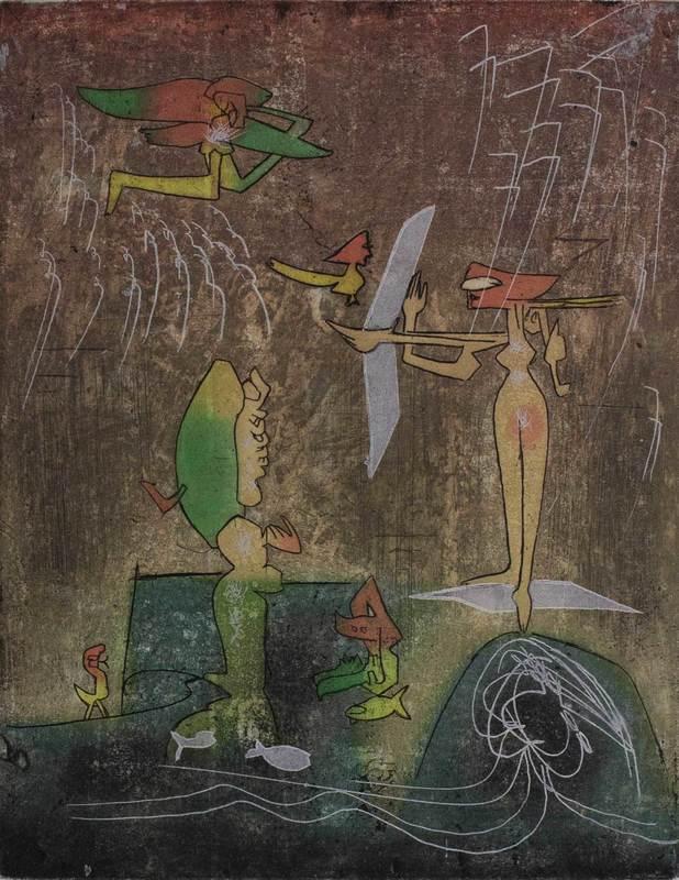 Roberto MATTA - Print-Multiple - Senza titolo
