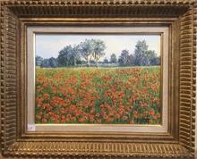 Raymonde AUBRY - Painting - Coquelicots