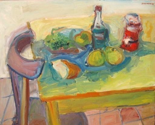 George CHEMECHE - Pintura - Still life