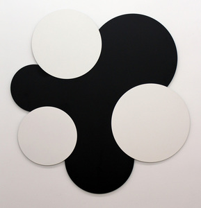 Norman DILWORTH - Sculpture-Volume - three by three