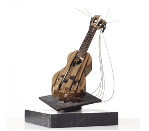 Fernandez ARMAN - Sculpture-Volume - Ukulele