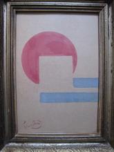 Frantisek KUPKA - Drawing-Watercolor - COMPOSITION  1930