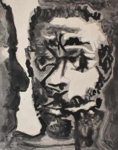 Pablo PICASSO - Print-Multiple - Smoker with a Man | Fumeur avec un homme