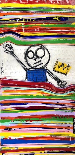 David FERREIRA - 绘画 - Toto