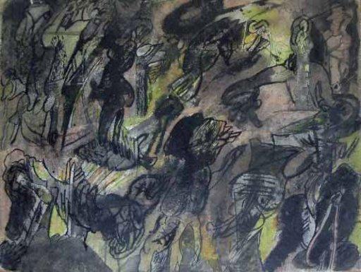 Alfonso BONIFACIO - Pittura - Sin titulo