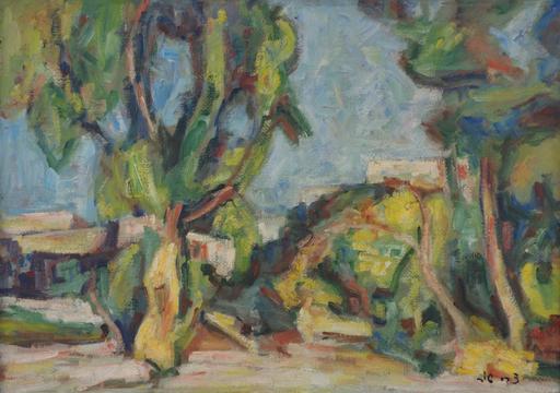 Zvi SHOR - Gemälde - Landscape in Petach-Tikva
