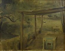 Ramón GAYA - Painting - Lago de Chapultepec