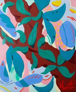 Sébastien COUEFFIC - Pittura - composition florale 4
