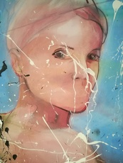 Fabien BOUGUENNEC - Peinture - The Goddess of Limbo