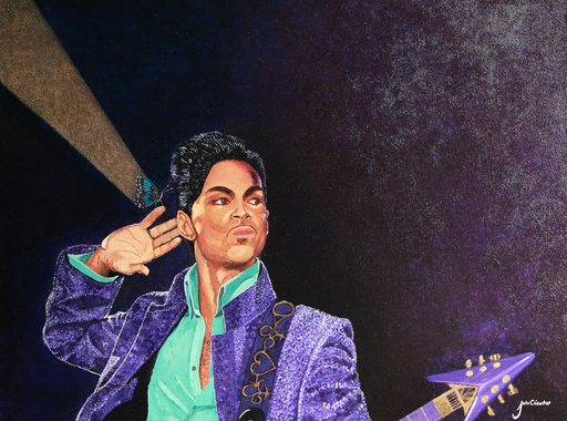 Julio César OSORIO - Painting - Loving Prince    (Cat N° 6658)