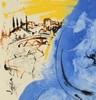 萨尔瓦多·达利 - 版画 - La Madonna blù - Maria conferens in corde suo