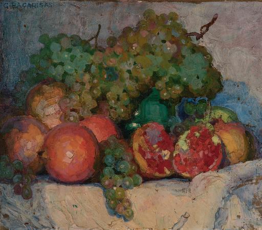 Gustavo BACARISAS PODESTA - Peinture - Bodegón de frutas