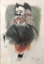 Pedro Pablo OLIVA - Dibujo Acuarela