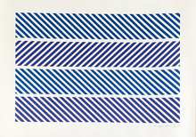 Bridget RILEY - Estampe-Multiple - Untitled - Rothko Memorial Portfolio