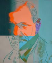 安迪·沃霍尔 - 版画 - Sigmund Freud